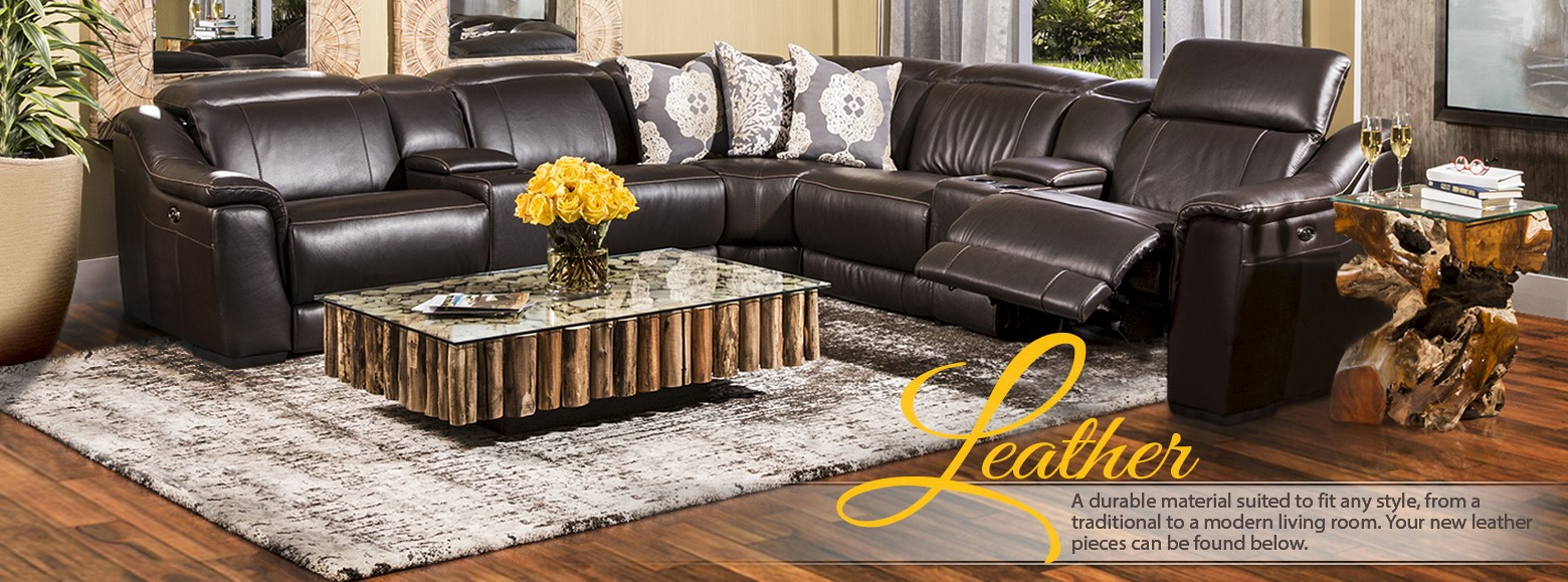 Leather Furniture Leather Sectionals
