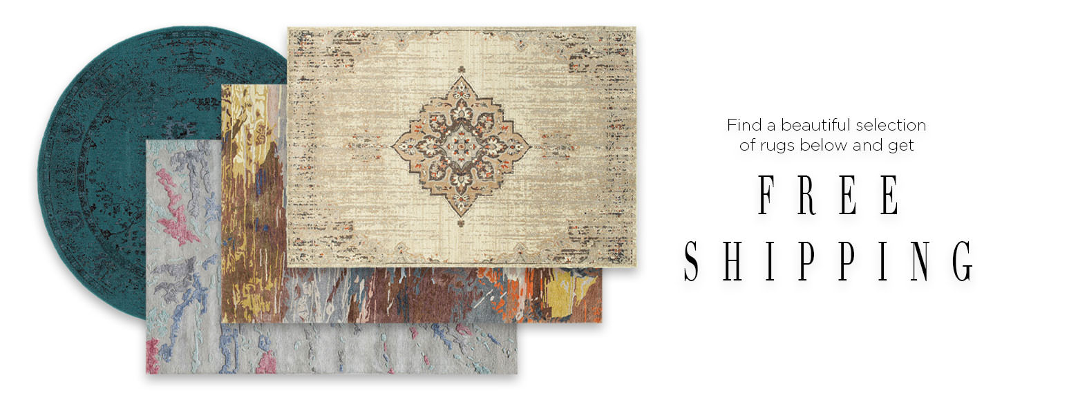Fined a beautiful selection of rugs below and get Free Shipping.