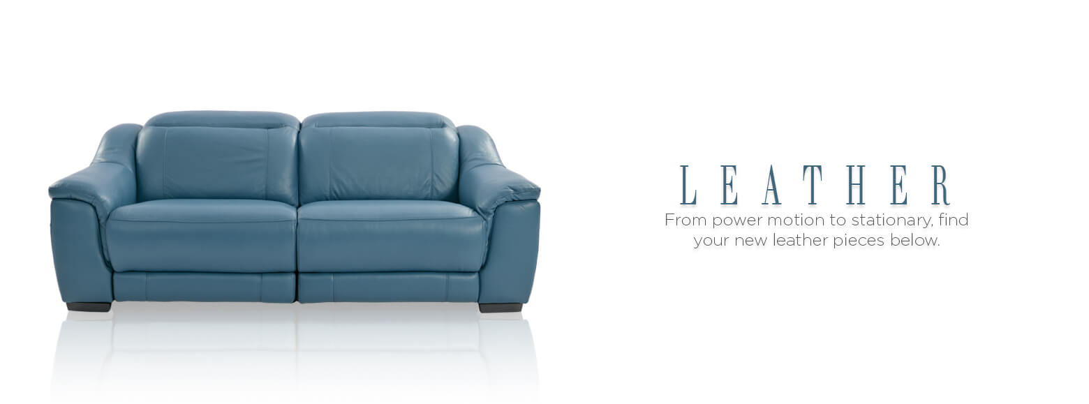 from power motion to stationary from full comfort to italian genuine leather find your leather furniture