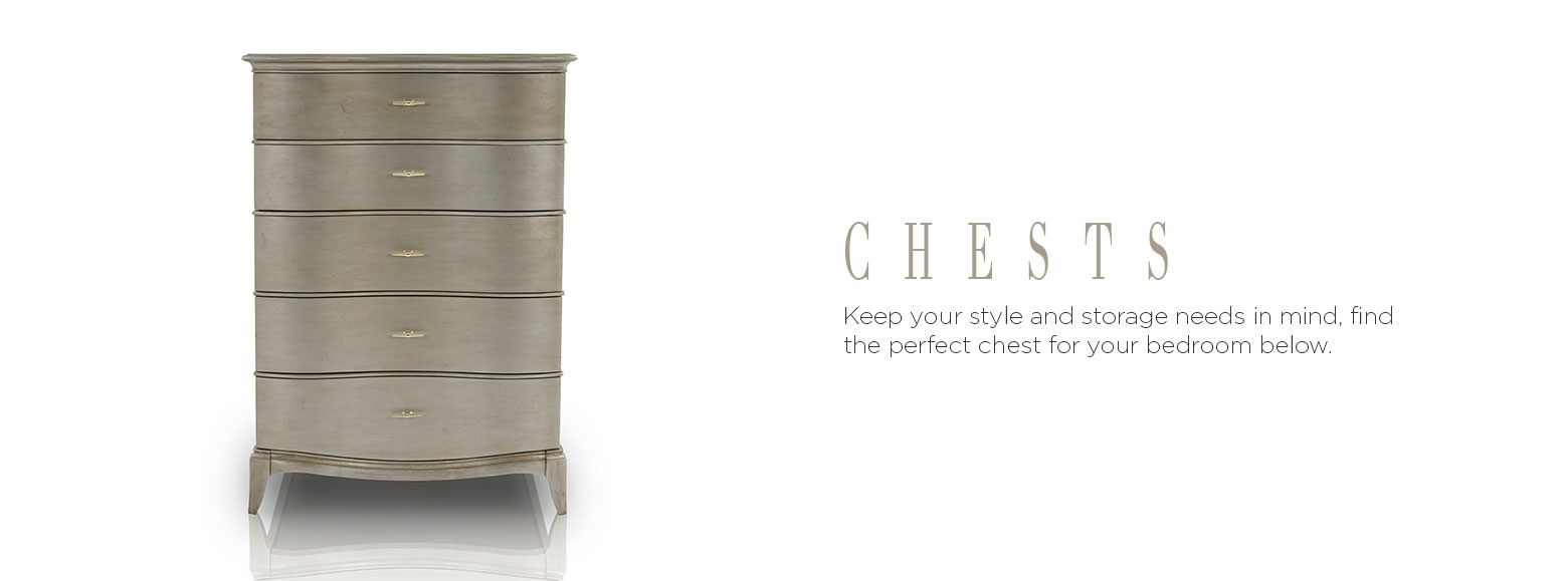 Chests. Keep your style and storage needs in mind, find the perfect chest for your bedroom below.