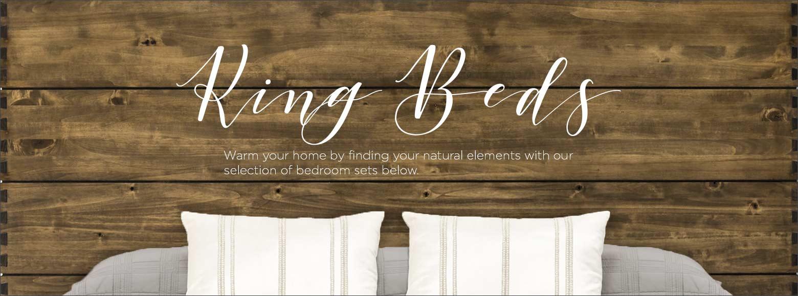 Beds & Bedrooms - King Beds | El Dorado Furniture