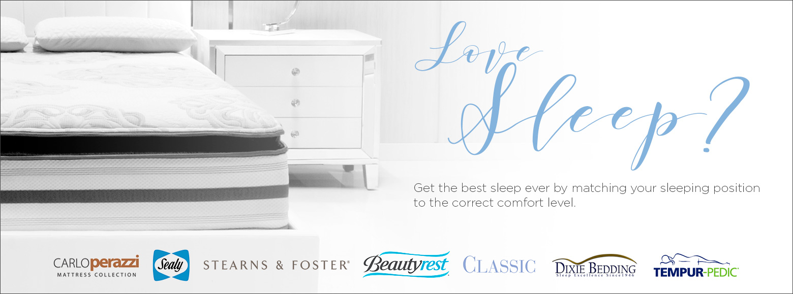 Love sleep? Get the best sleep ever by matching your sleeping position to the correct comfort level.