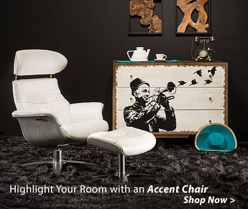 Highlight Your Room with an Accent Chair Shop Now