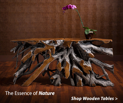 The essence of Nature shop Wooden Tables