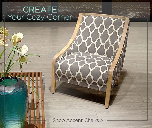 Create Your Cozy Corner Shop Accent Chairs