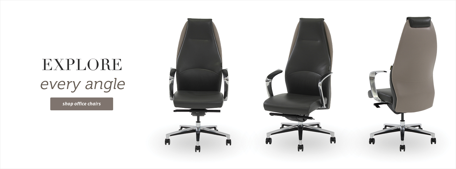 Explore every angle Shop Office Chairs