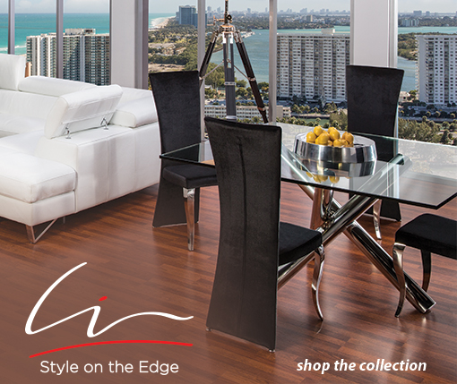 Liv Style on the edge, Shop the collection
