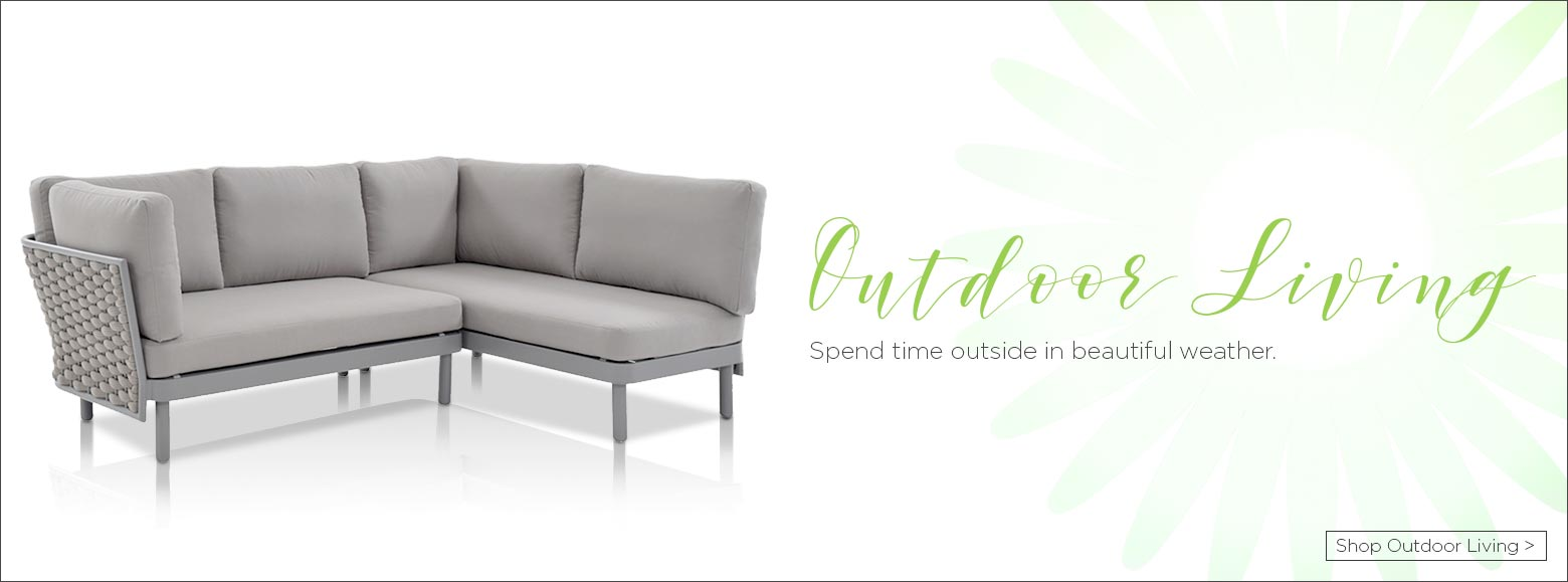 Outdoor living sped time outside in beautiful weather. Shop outdoor living.