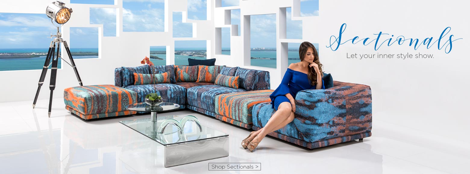 El dorado furniture miami gardens florida - Sectionals Let Your Inner Style Show Shop Sectionals