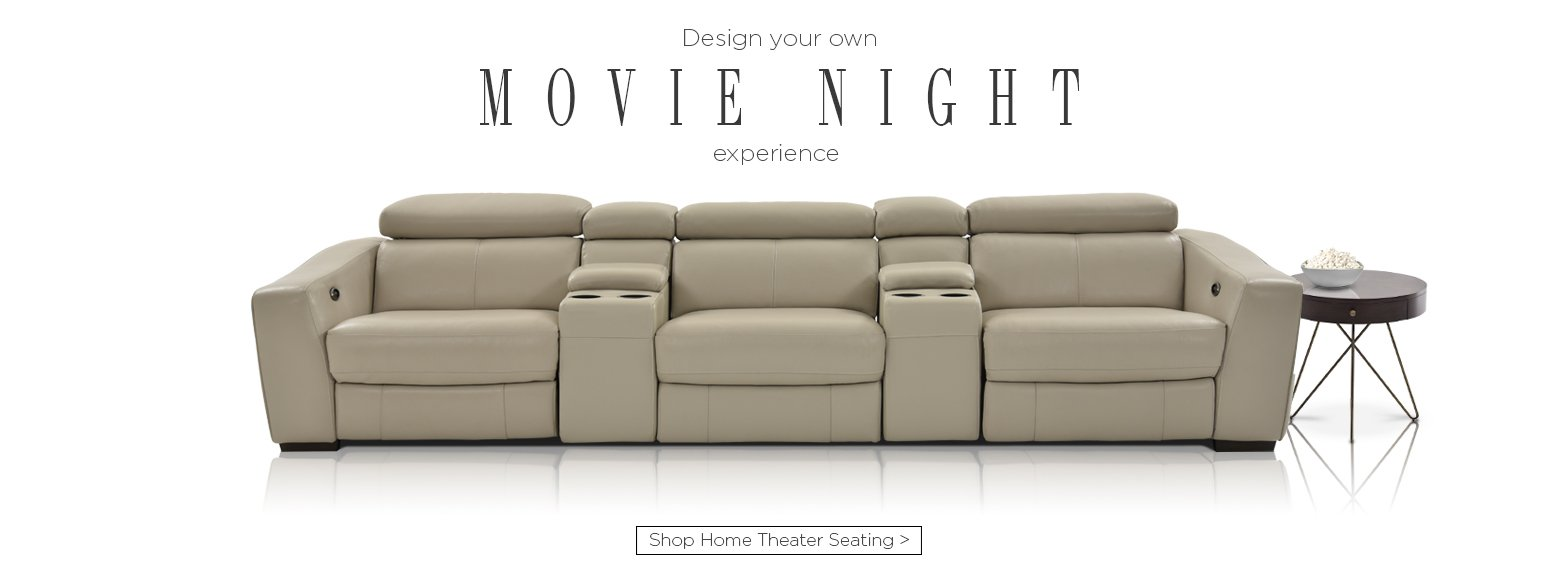 Design your own movie night experience. Shop home theater seating.