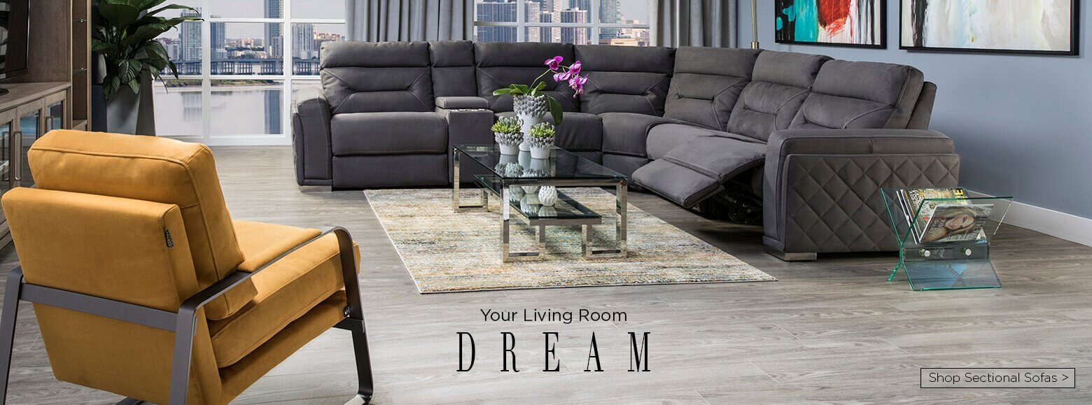 Your Living Room Dream. Shop Sofas.