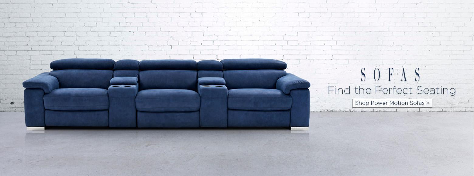 El dorado furniture miami gardens florida - Sofas Find The Perfect Seating Shop Power Motion Sofas
