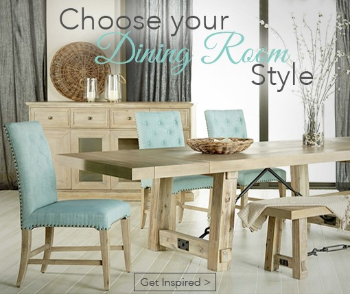Choose your Dining Room Style Get Inspired
