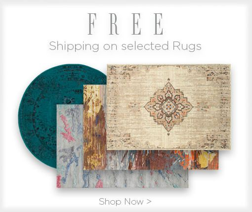 Free Shipping on selected rugs. shop now.