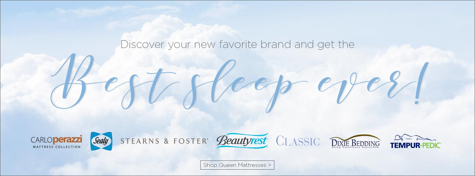 Discover your new favorite brand and get the best sleep ever! Shop queen mattresses.