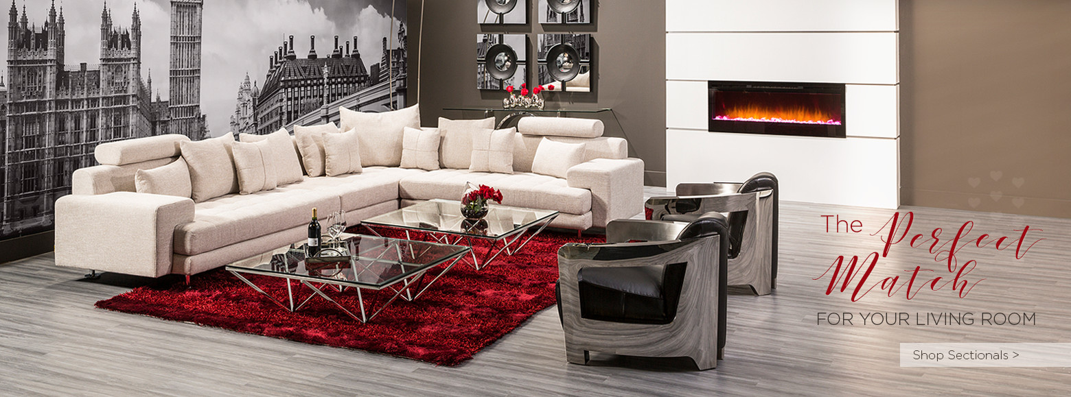The perfect Match for Your Living Room Shop Sectionals