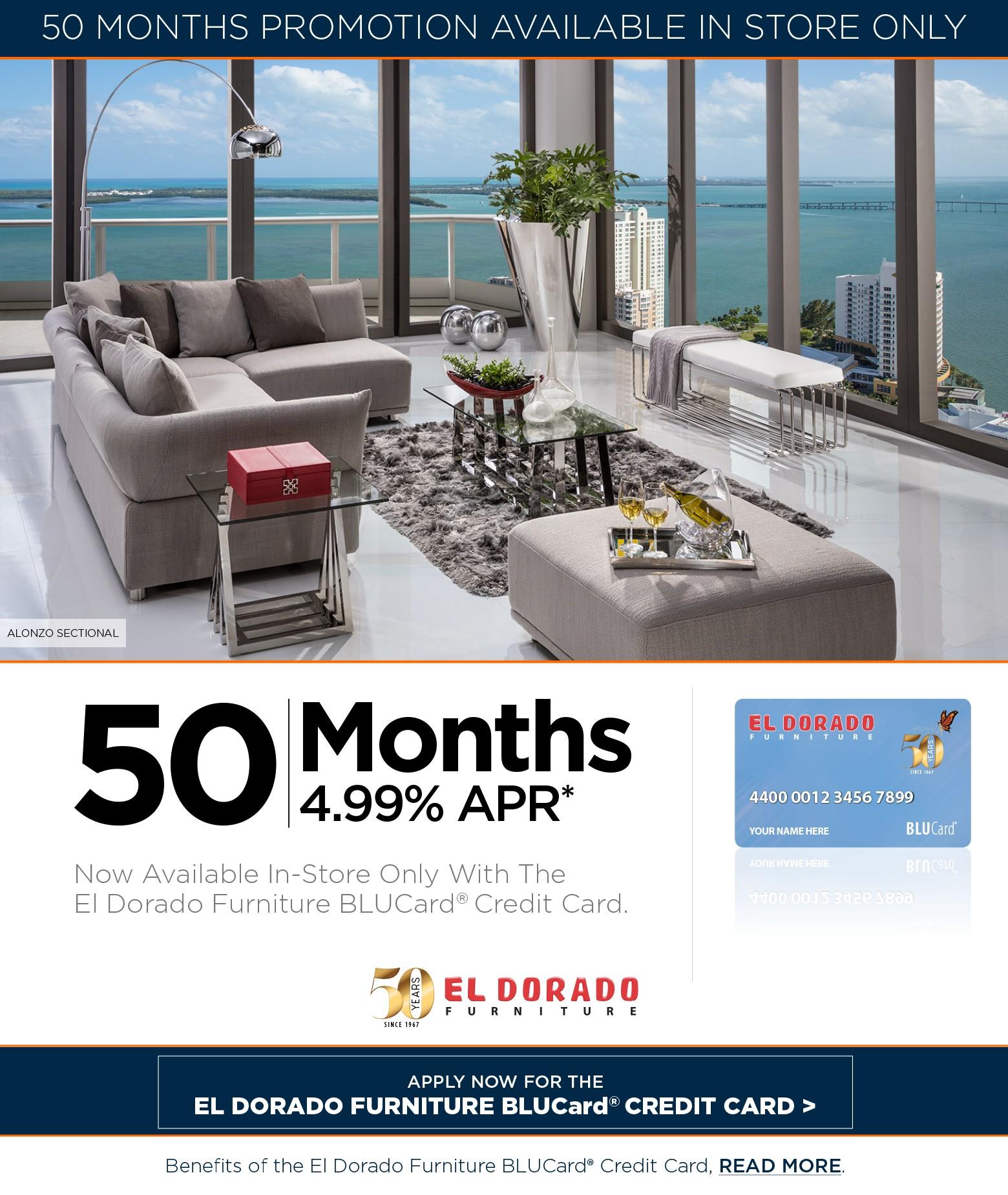 50 Months El Dorado Furniture