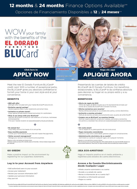 Blucard El Dorado Furniture