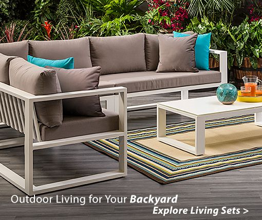 Outdoor Living for Your Backyard Explore Living Sets