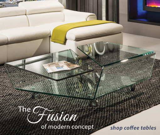 The Fusion of Modern Concept Shop Coffee Tables