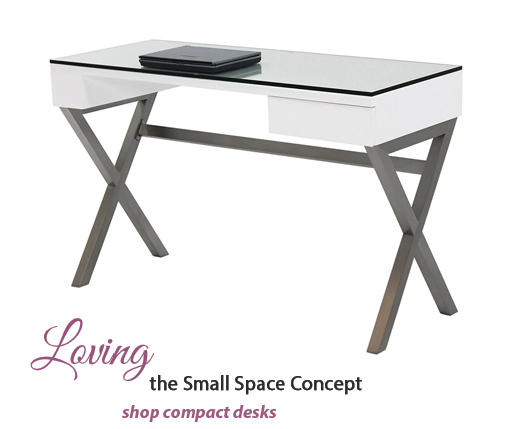 Loving the small space concept, Shop Compact Desks