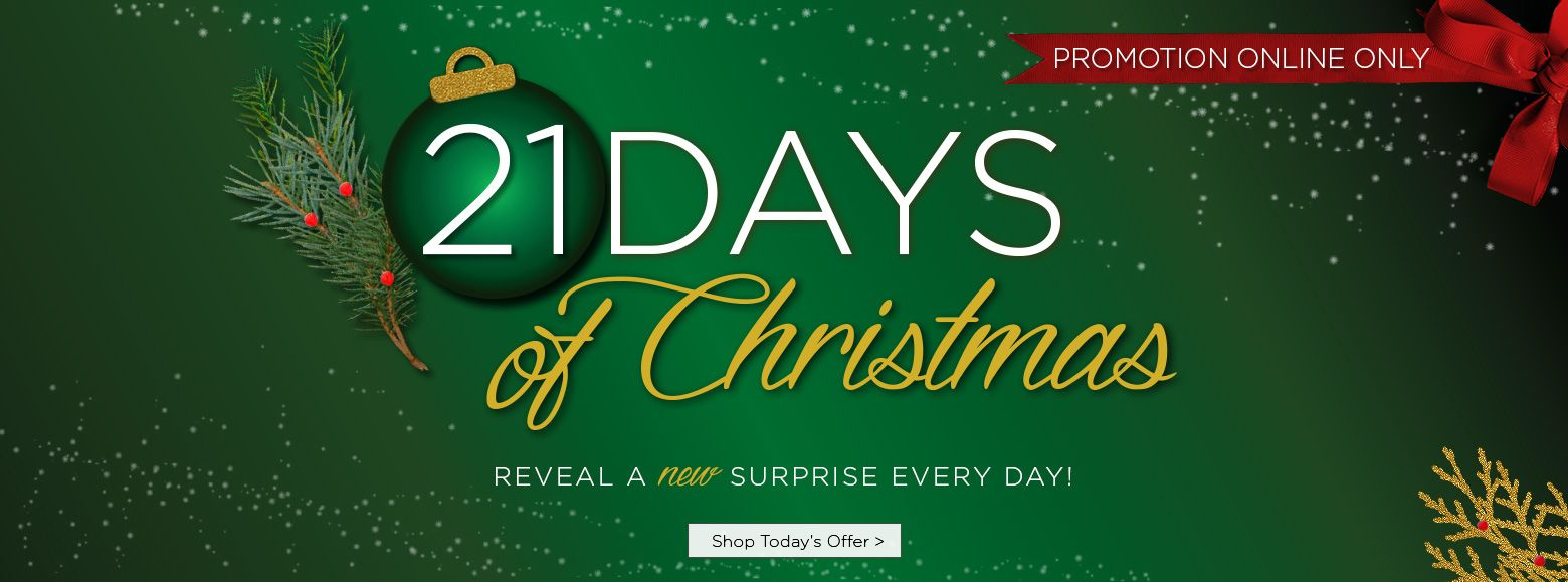 21 Days of Christmas Reveal a new surprise every day Shop Today's offer