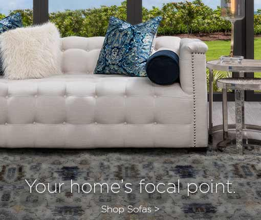 your home's focal point. Shop sofas.