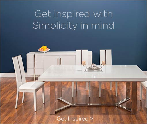 Get Inspired with Simplicity in mind. Get Inspired.