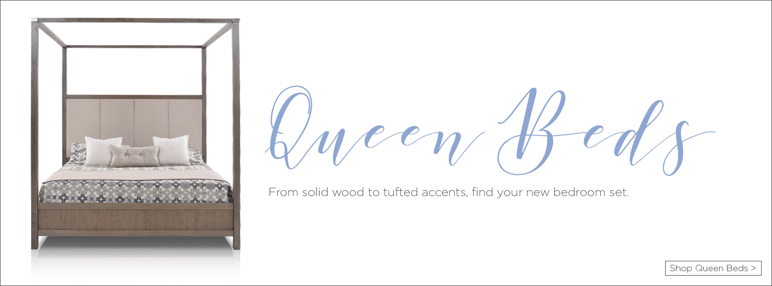 Queen Beds. From solid wood to tufted accents, fine your new bedroom set. Shop queen beds.